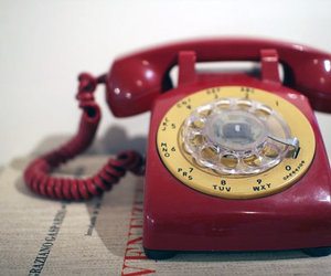 rot, vintage, and dial phone image