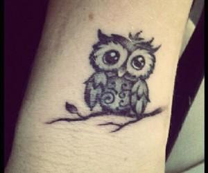 owl, tat, and cute image