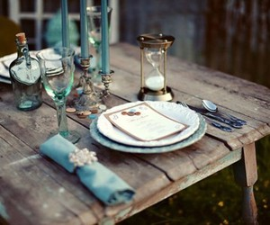 design, table, and romantic image