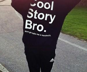 adidas, girl, and cool story bro image
