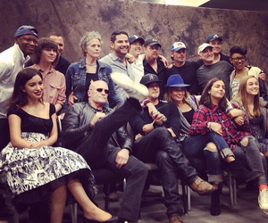 cast, Maggie, and norman reedus image