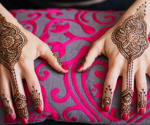 art and mehndi image