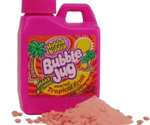 bubble jug and pink image