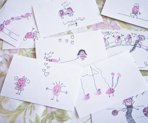 finger, stamp, and illustration image