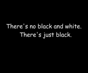 black, black & white, and quote image