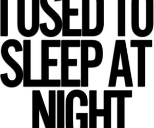 party, night, and sleep image