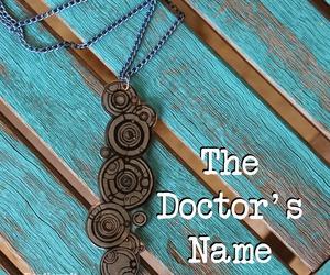 doctor, gallifrey, and name image