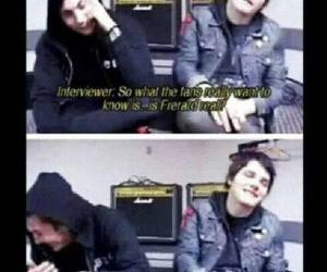 bromance, frank iero, and gerard way image
