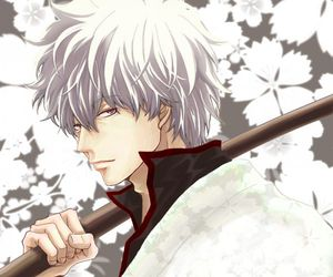 calm, gintoki, and cool image