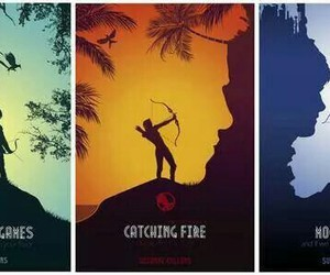 catching fire, mockingjay, and the hunger games image