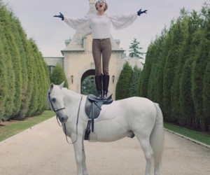 Taylor Swift, horse, and blank space image