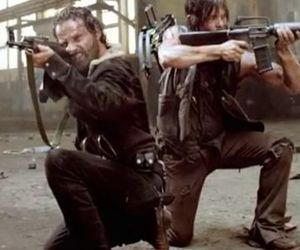 rick, terminus, and the walking dead image