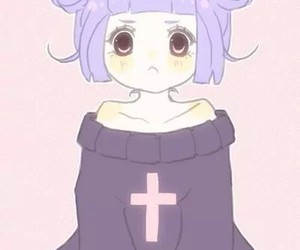 pastel, anime, and pastel goth image