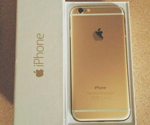 iphone and gold image