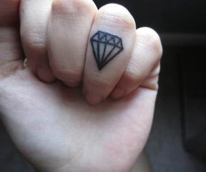 beautiful, dimond, and black image