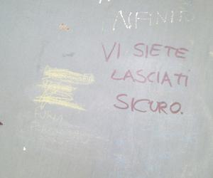 funny, graffiti, and infinito image