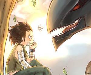 fairy tail, gajeel, and metalicana image