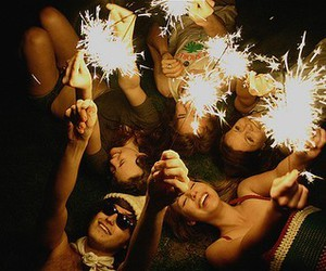 firework and partypeople image