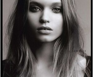 model, black and white, and Abbey Lee Kershaw image