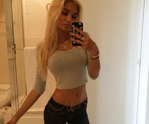 pia mia, fashion, and blonde image