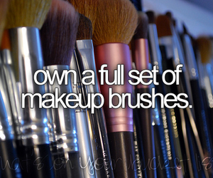 before i die, Brushes, and makeup image