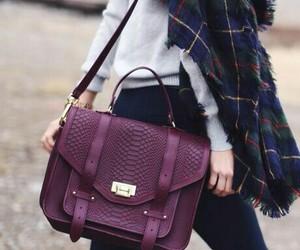 snakeskin, cross body bag, and satchel bag image