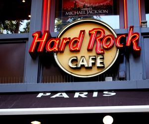 hard rock cafe, paris, and style image