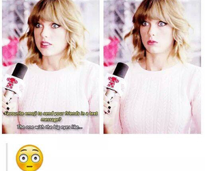 Taylor Swift and emoji image