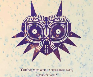 mask, quote, and wallpaper image