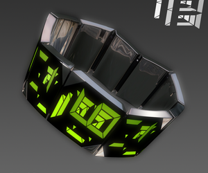 future, led, and watch image