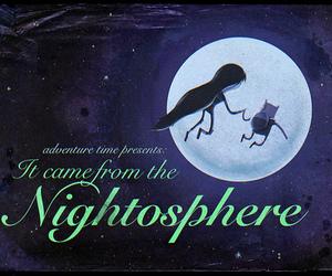adventure time and nightoshere image