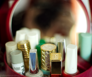 camera, lipstick, and nailpolish image