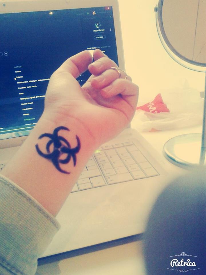 Tattoo hardstyle Defqon tattoo
