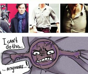 funny, sherlock, and lol image