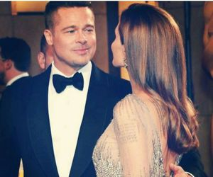Angelina Jolie, brad pitt, and beautiful image