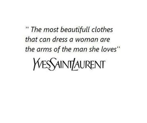 love, quotes, and YSL image