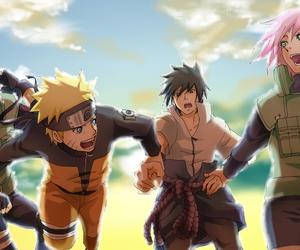 sasuke uchiha, naruto uzumaki, and naruto shippuden image