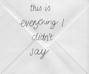 quotes, Letter, and sad image