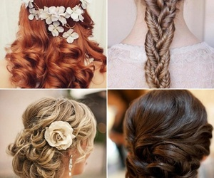 love, fashion, and hair image