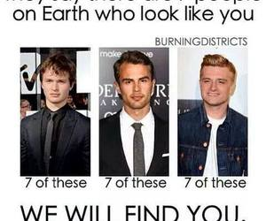 theo james, ansel elgort, and josh hutcherson image