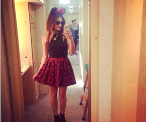 lucy hale, pretty little liars, and minnie image