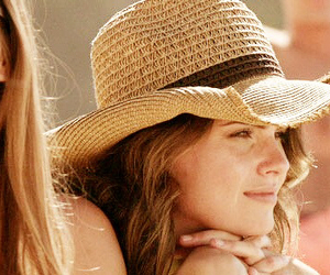 brunette, country, and hat image