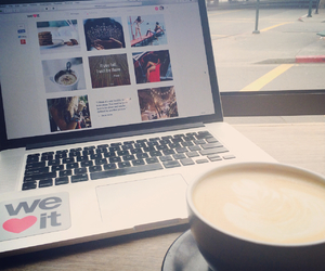 coffee, how i heart, and latte image