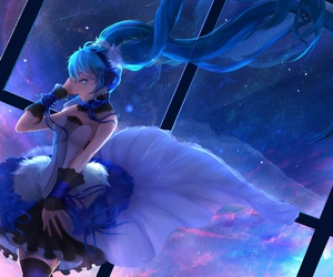 vocaloid, anime, and blue image