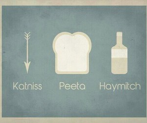 katniss, peeta, and haymitch image