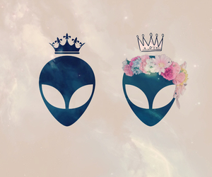 alien, Queen, and king image