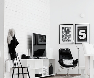 room, white, and black image