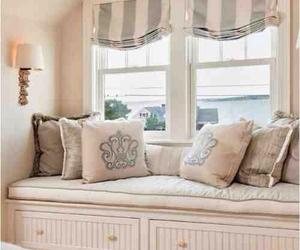 bedroom, home, and window image