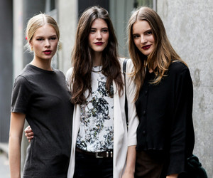 milan, street style, and models image