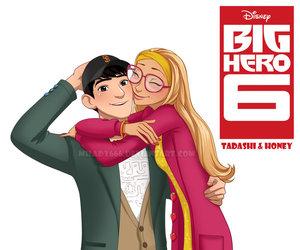 big hero 6 and honey lemon image